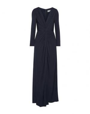 Длинное платье BADGLEY MISCHKA. Цвет: темно-фиолетовый