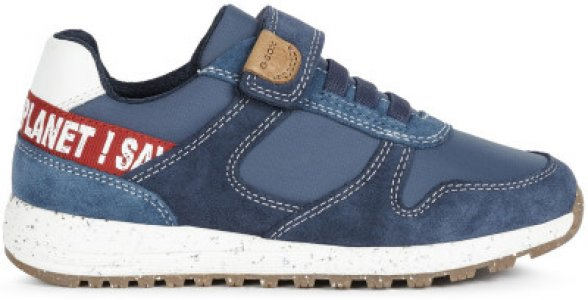 Кроссовки для мальчиков J Alben B. D, размер 36 Geox. Цвет: синий