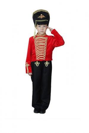 Карнавальный костюм Страна Карнавалия. Цвет: красный, черный