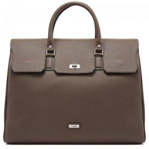 Дорожная сумка Fabi. Цвет: серый