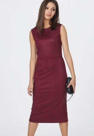 Платье Fly. Цвет: бордовый
