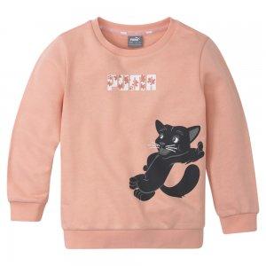 Детская толстовка Paw Crew Neck Kids Sweatshirt PUMA. Цвет: розовый