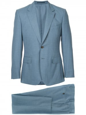 Formal fitted suit Gieves & Hawkes. Цвет: синий