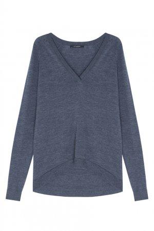 Однотонный пуловер Bruuns Bazaar. Цвет: серый