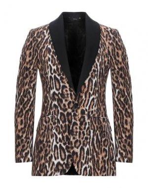 Пиджак R13. Цвет: коричневый
