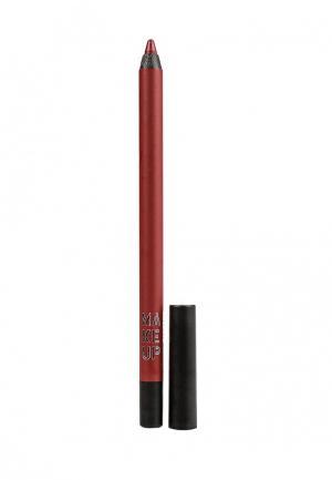 Карандаш для губ Make Up Factory Color Perfection Lip Liner т.48 Гранат. Цвет: бордовый