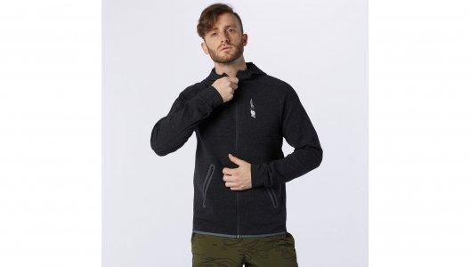 Толстовки Fortitech Fleece Full Zip New Balance. Цвет: черный