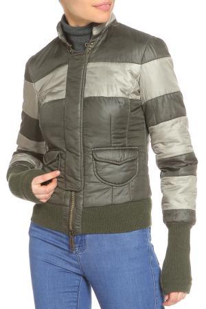 Куртка утепленная COAST WEBER. Цвет: болотный-серый