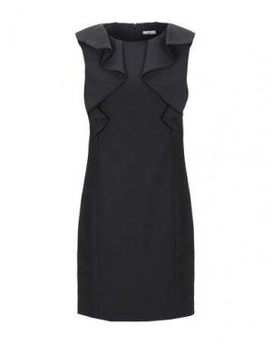 Короткое платье CAPPELLINI by PESERICO. Цвет: черный