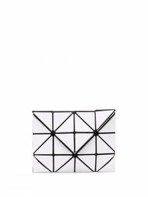 Бумажник с геометричными вставками Issey Miyake. Цвет: белый