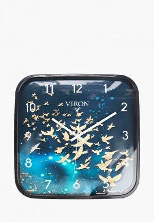 Часы настенные Viron. Цвет: черный