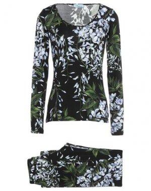 Пижама BLUMARINE. Цвет: черный