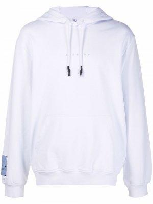 Casual tie-dye hoodie MCQ. Цвет: белый