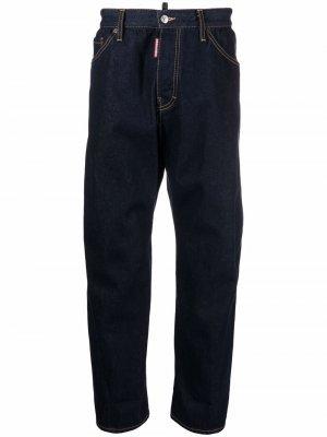Прямые джинсы Dsquared2. Цвет: синий
