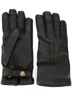 Классические перчатки Belstaff. Цвет: чёрный