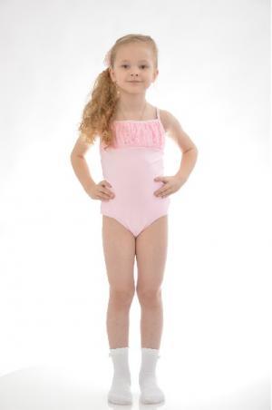 Купальник спортивный Arina Ballerina. Цвет: розовый
