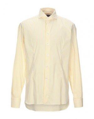 Pубашка BRANCACCIO. Цвет: белый