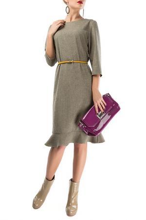 Платье LEBBEL. Цвет: серый