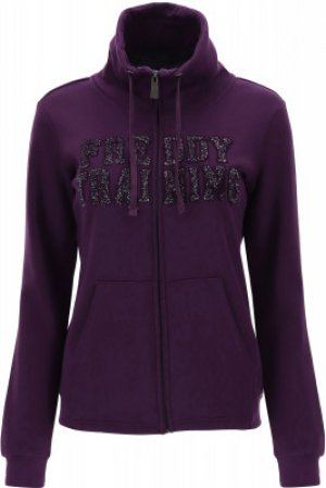 Толстовка женская , размер 42-44 Freddy. Цвет: фиолетовый