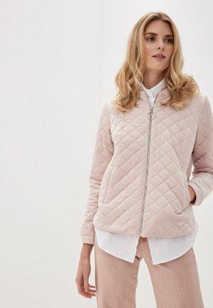 Куртка Argent. Цвет: розовый