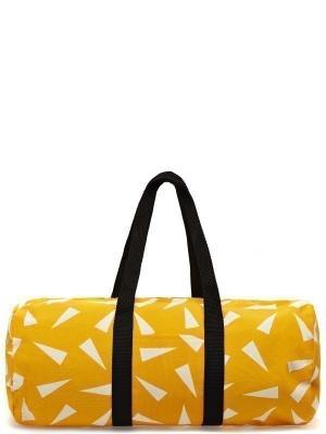 Спортивная сумка THE POUNDSHOP. Цвет: желтый