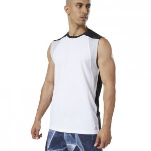 Спортивная майка One Series Training SmartVent Reebok. Цвет: white