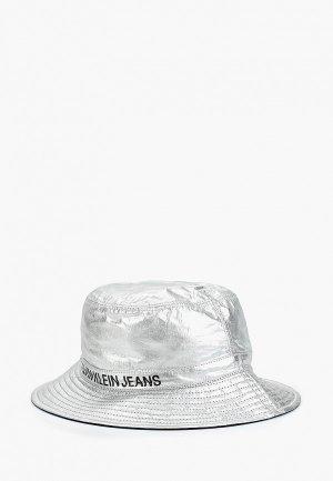 Панама Calvin Klein Jeans. Цвет: серебряный