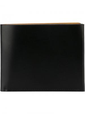 Бумажник B Isaac Reina. Цвет: чёрный
