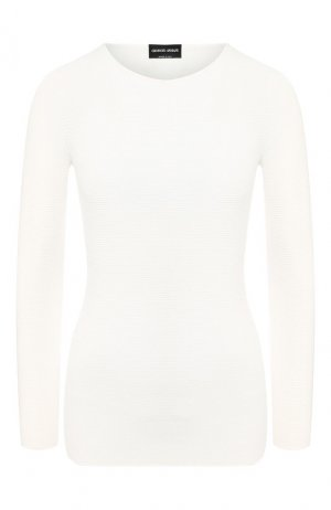 Пуловер Giorgio Armani. Цвет: белый