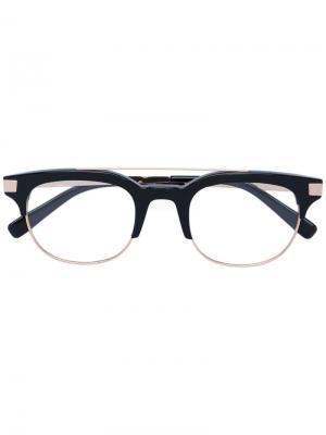 Square frame glasses Dsquared2 Eyewear. Цвет: чёрный