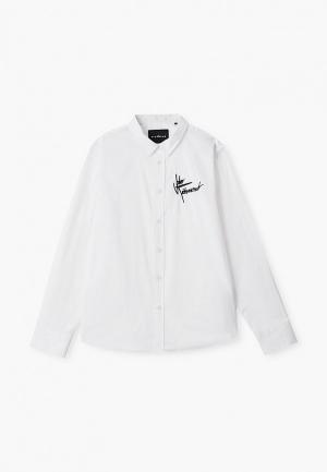 Рубашка John Richmond. Цвет: белый