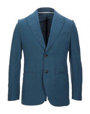 Пиджак ADD. Цвет: грифельно-синий