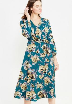 Платье Imago. Цвет: бирюзовый