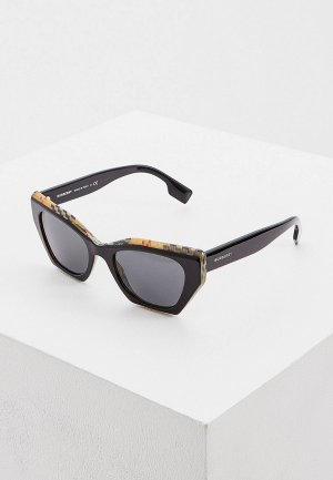Очки солнцезащитные Burberry 0BE4299 382887. Цвет: черный