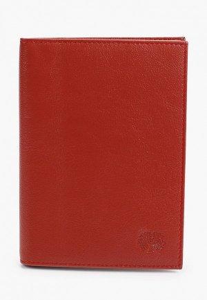 Обложка для документов Qoper. Цвет: красный