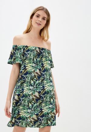 Платье Fresh Made. Цвет: синий
