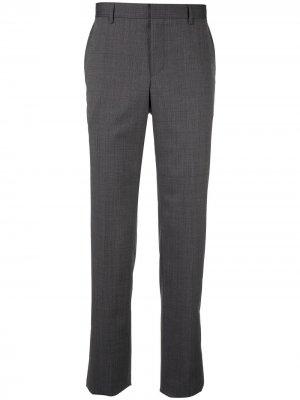 Классические строгие брюки Cerruti 1881. Цвет: серый