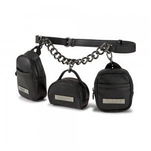 Сумка на пояс Womens Chain Bag PUMA. Цвет: черный