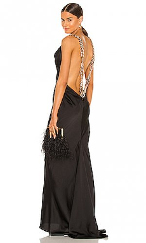 Вечернее платье vivien Bronx and Banco. Цвет: черный