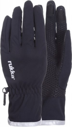 Перчатки Uotsola, размер 9-9,5 Rukka. Цвет: черный