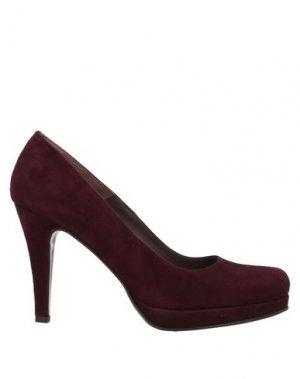 Туфли CALPIERRE. Цвет: красно-коричневый