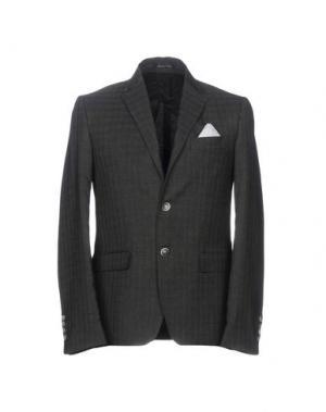 Пиджак EREDI DEL DUCA. Цвет: стальной серый