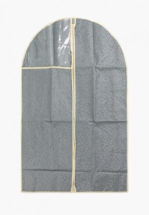 Чехол для одежды El Casa. Цвет: серый