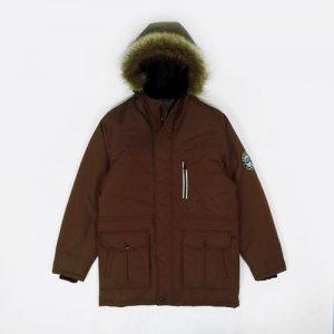 Куртка Tundra Anteater. Цвет: коричневый