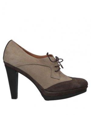 Обувь на шнурках TIFFI. Цвет: темно-коричневый
