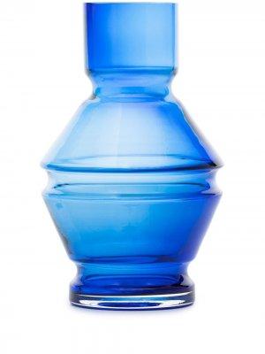 Маленькая ваза Relæ raawii. Цвет: синий