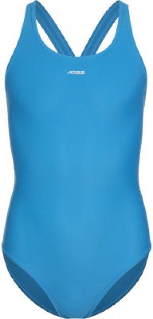 Купальник для девочек , размер 152 Joss. Цвет: синий
