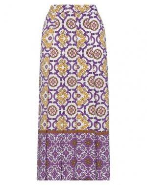 Повседневные брюки HANITA. Цвет: фиолетовый