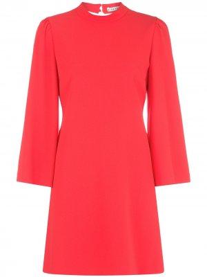 Платье мини Bailey Alice+Olivia. Цвет: красный