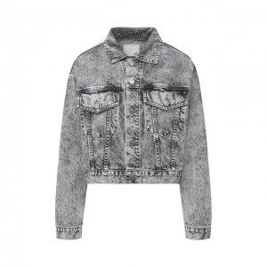 Джинсовая куртка Ag. Цвет: серый